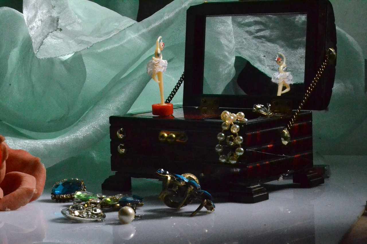Pomysły na przechowywanie biżuterii