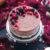 Tort śmietanowy z borówkami, białą czekoladą i galaretką